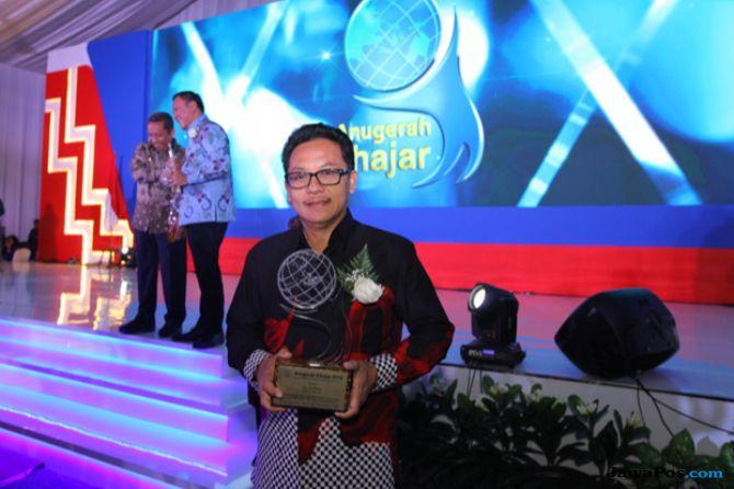 Peduli Pendidikan, Wali Kota Malang Raih Kihajar Award 2018