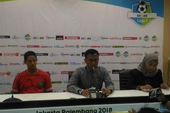 Sriwijaya FC, Liga 1 2018, Bali United, Widodo C Putro