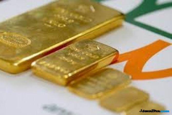 Pelemahan Rupiah Antam Menuai Berkah Penjualan Emas Laris Manis