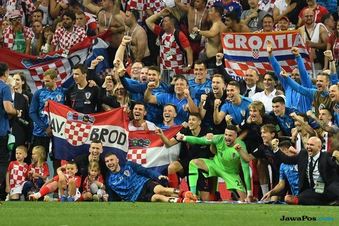 Timnas Kroasia, Piala Dunia 2018, Final Piala Dunia 2018