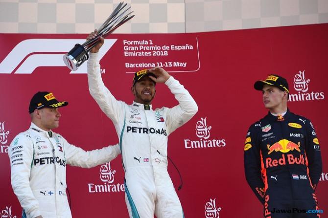 F1 GP Spanyol, GP Spanyol, Formula 1, Lewis Hamilton, Valtteri Bottas, Sebastian Vettel