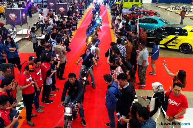 Pembukaan Parjo, Meriah Gelegar Roda Gila Di atas Karpet Merah