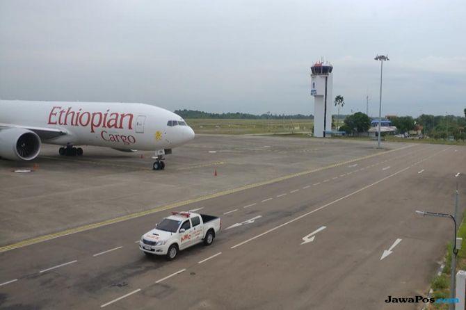 Pemeriksaan Kru dan Bawaaan Ethiopian Airlines Masih Berlangsung