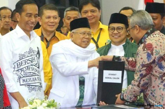 Jokowi KH Ma'ruf Amin