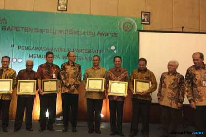 BAPETEN Safety and Security Awards 2018