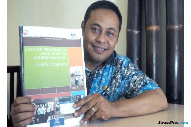 Pengalaman Guru SDN Sawocangkring Harum Kawaludin Tugas di Australia