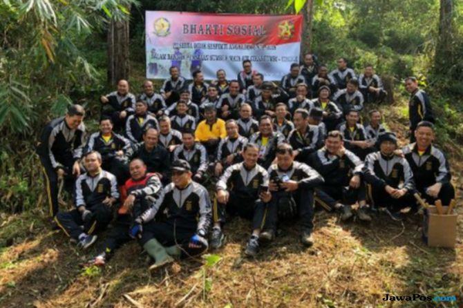 Peringati Hari Bhayangkara, Polisi Bangun Bendungan di Lembang