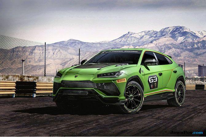 Perkenalkan Urus ST-X, Lamborghini yang Disiapkan Ikut Balap Off Road