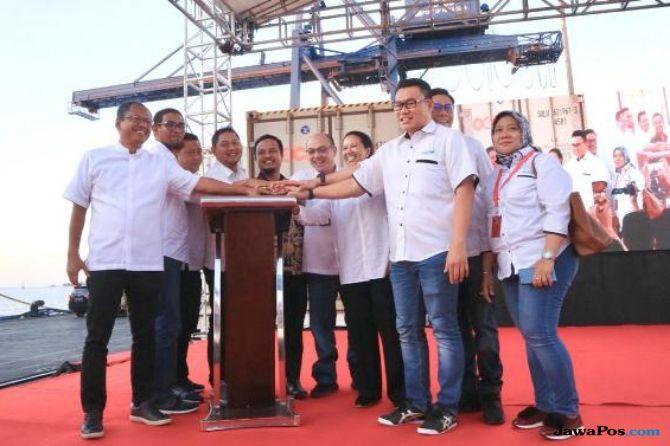 Perkuat Rupiah, Menteri Rini Lepas Ekspor Produk Ikan di Makassar