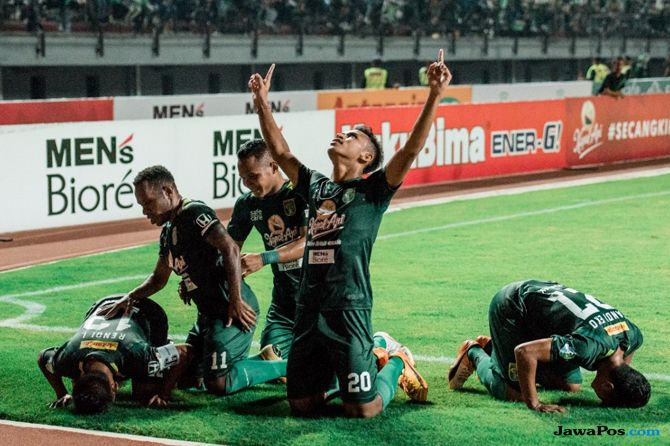 Persebaya Surabaya, Liga 1 2018, Djadjang Nurdjaman, PSIS Semarang