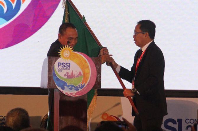 PSSI, Kongres PSSI 2019, Edy Rahmayadi, Joko Driyono