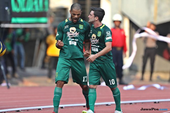 Persebaya Surabaya, Persela Lamongan, Liga 1 2018, Angel Alfredo Vera