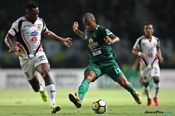 Persebaya Surabaya, Liga 1 2018, Djadjang Nurdjaman, David da Silva, Miswar Saputra