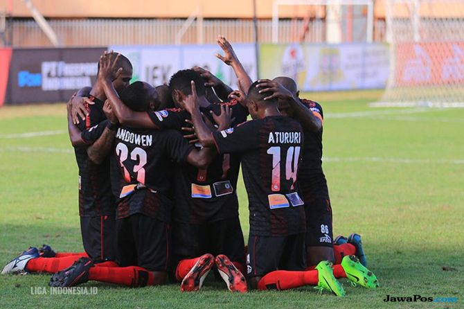 Liga 1 2018, Persipura Jayapura