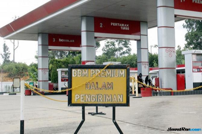 Pertamina Menambah Premium di 571 SPBU Wilayah Jawa, Madura, dan Bali