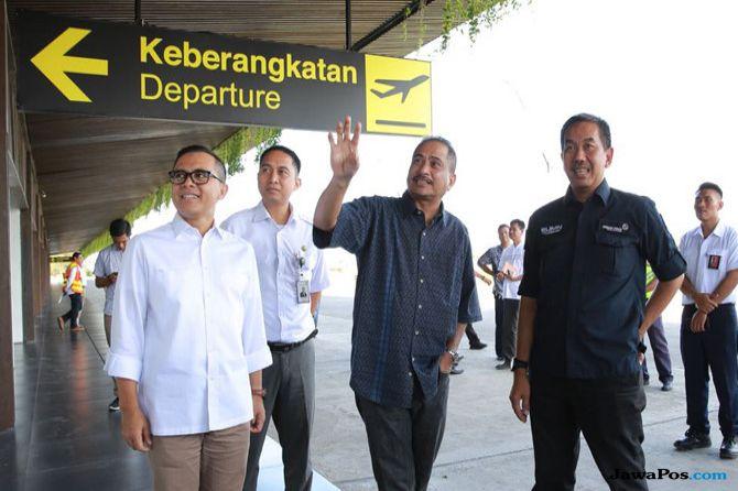 Pertumbuhan Penumpang Bandara Tertinggi saat Mudik Ada di Banyuwangi