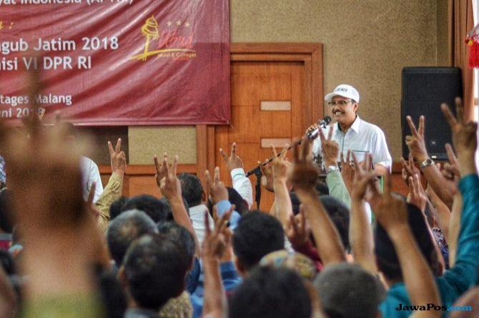 Petani Tebu se-Jawa Timur Deklarasi Dukung Gus Ipul-Puti
