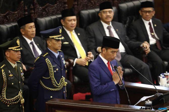 Pidato Kenegaraan Tidak Krusial, Jokowi Kehilangan Momentum