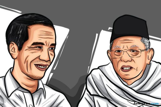 Pilpres 2019, Di Atas Kertas Jokowi-Ma'ruf Unggul