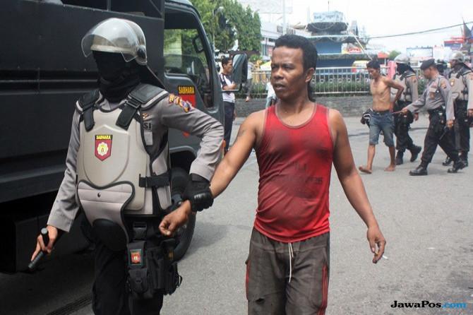 PKL Ditertibkan, Intel Polisi Jadi Sasaran Amuk Massa