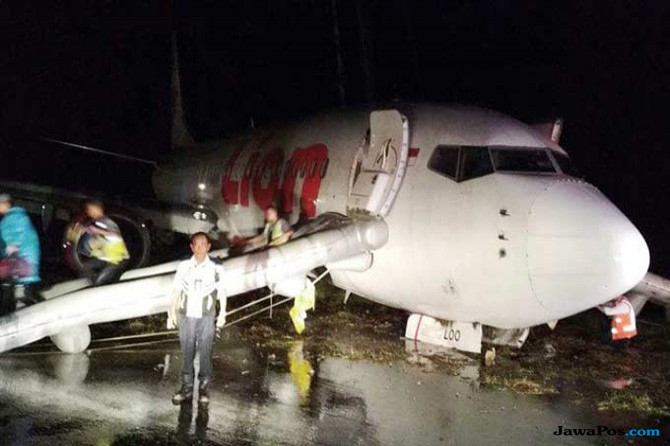 PKPPK Bandara Soekarno-Hatta Turun Bantu Evakuasi Pesawat di Gorontalo