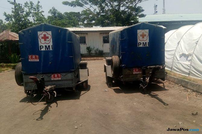 PMI Bangun Camp Instalasi Water Treatment di Sulteng