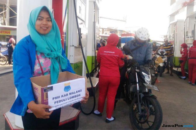PMII Malang Sumbang Rp 32 Juta Untuk Korban Gempa Lombok