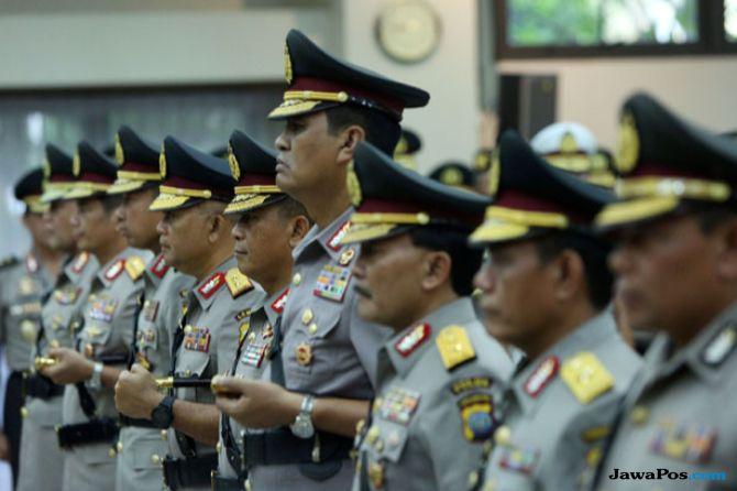 Polda Jatim Mutasi 15 Perwira, Jabatan AKP Cinthya Dewi Digeser