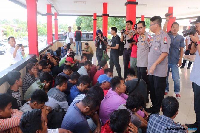 Polda Kepri Amankan 47 Orang Calon Pekerja Ilegal