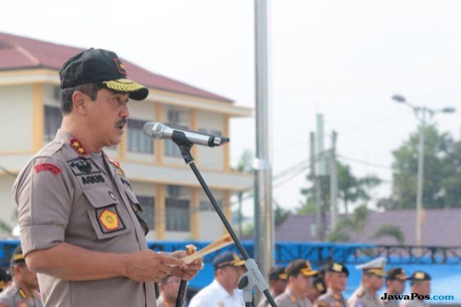 Polda Sumut Kirim 200 Pasukan dan Bantuan Logistik ke Sulawesi Tengah