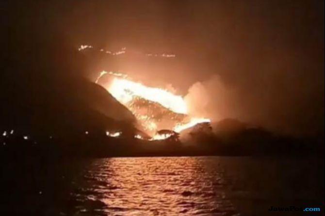 Polisi Belum Tetapkan Tersangka Kasus Kebakaran Hutan Gili Lawa