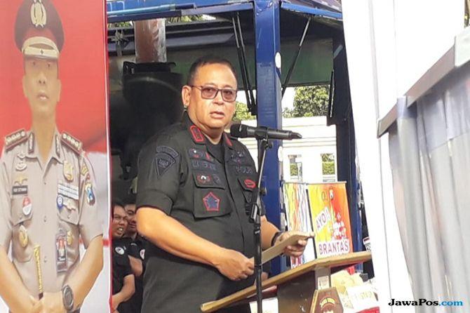 Polisi Berhasil Peredaran 2,2 kg Sabu-sabu Milik Leonardo Kapolda Jatim Irjen Pol Luki Hermawan.