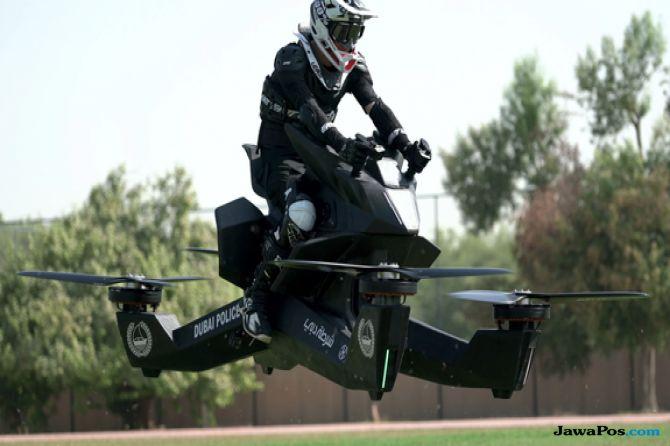 motor terbang, hoverbike, dubai,