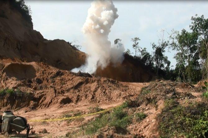 Polisi Musnahkan Bom yang Ditemukan di Kediaman Terduga Teroris