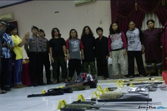 Polisi Tangkap 10 Pelaku Sweeping di Solo, 2 Terpaksa Ditembak