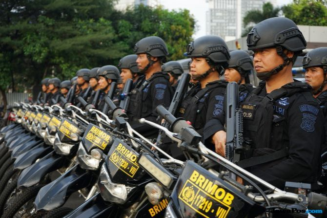 Polri: Pengawal Amien Tak Bisa Masuk ke Mapolda Metro Jaya