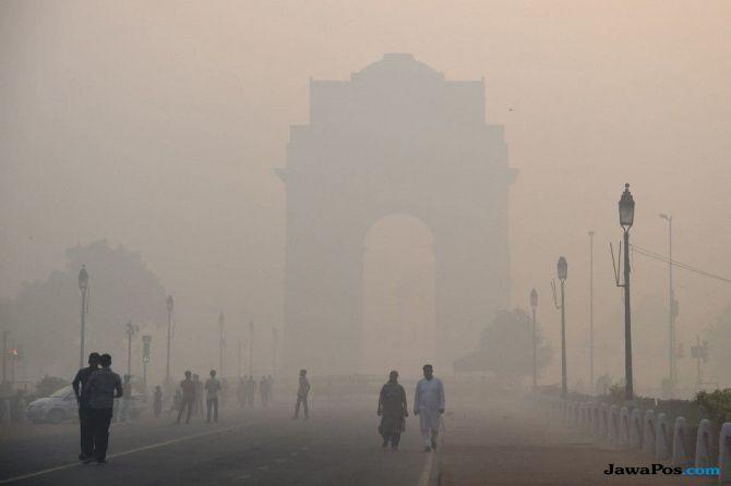 polusi udara, polusi, india, new delhi,
