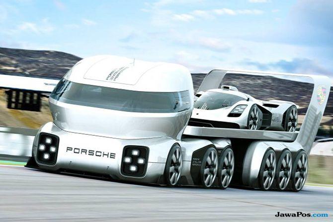 Porsche GT Vision, Kandidat Truk Paling Istimewa di Dunia
