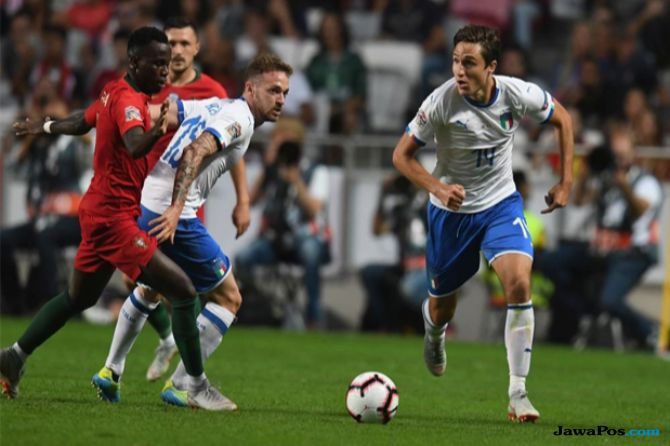 UEFA Nations League, Portugal, Italia, Portugal 1-0 Italia