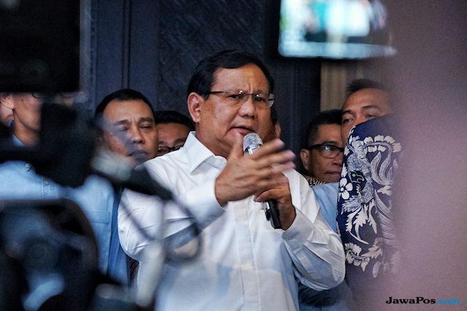 Prabowo Janji Kabinetnya Kelak Hanya Diisi Orang-orang Berintegritas