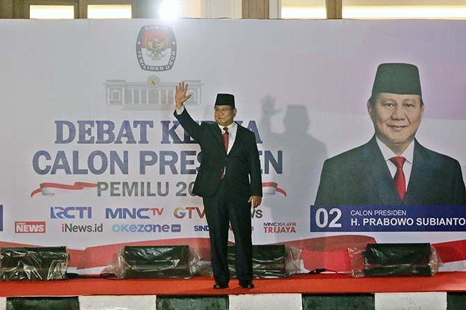 Prabowo: Kami Turunkan Harga Listrik, Bahan Pokok, dan Harga Pupuk