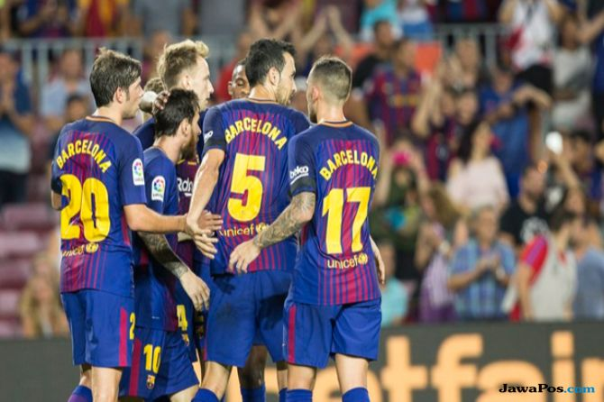 La Liga 2018-2019, Liga Spanyol, Barcelona, Deportivo Alaves