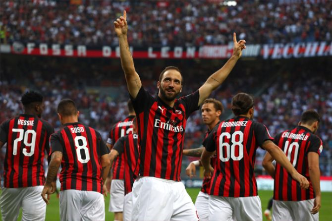 AC Milan, Gonzalo higuain
