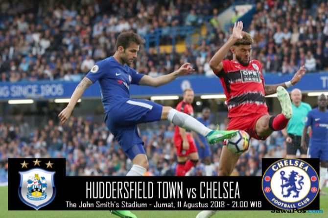 Premier league 2018-2019, Liga Inggris, Chelsea, Huddersfield Town