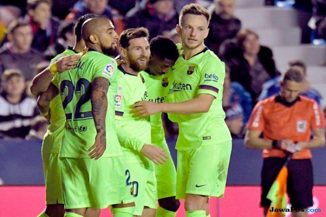 La Liga, Copa del Rey, Barcelona