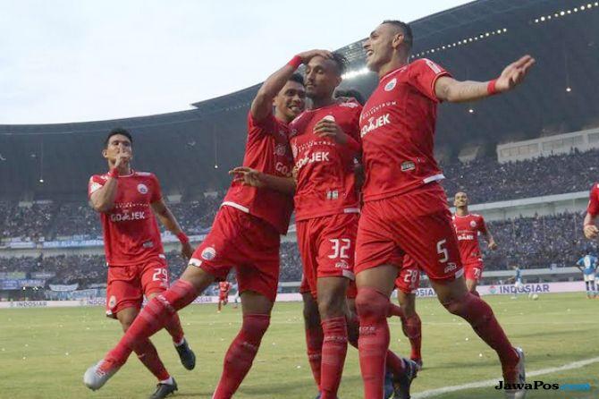 Liga 1 2018, Persija Jakarta, Mitra Kukar, Persija Jakarta vs Mitra Kukar