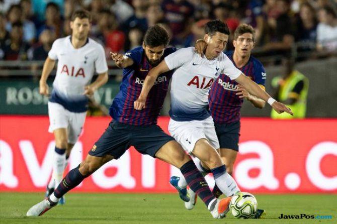 Liga Champions 2018-2019, Tottenham Hotspur, Barcelona