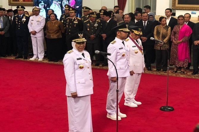 Presiden Jokowi Minta Khofifah-Emil Langsung Tancap Gas