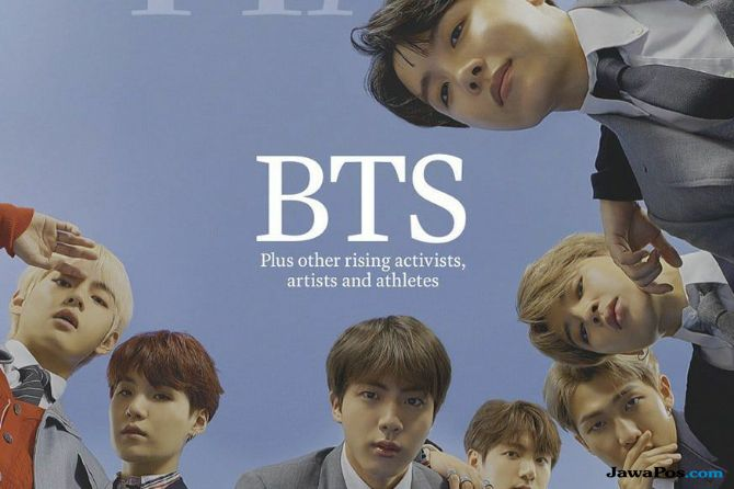 Prestasi Baru, BTS Jadi Cover Majalah TIME