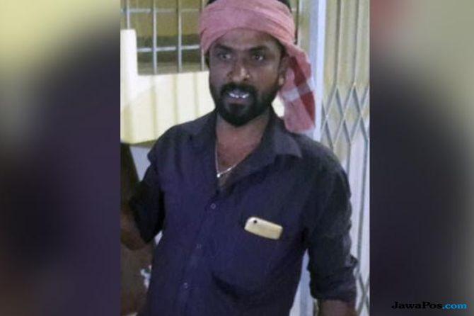 Pria India ke Kantor Polisi Bawa Bungkusan Kepala Istrinya